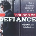 """Sounds of Defiance: Music of Shostakovich, Schnittke, P""""rt and Achron (CD, Jan-2012, Marquis Records)"""