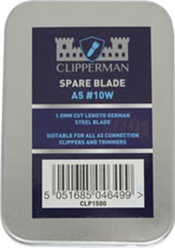 CLIPPERMAN A5 W GERMAN STEEL BLADE SET - WIDE - CLP1500