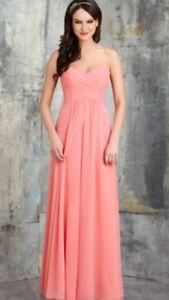 Bridesmaid Dress Sweetheart Pink