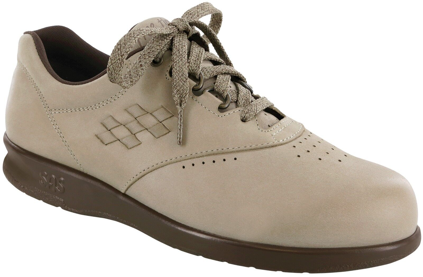 SAS Damens'S FREETIME TAUPE ARCH NUBUCK WALKING COMFORT Schuhe ARCH TAUPE SUPPORT,MADE IN USA 26f9af