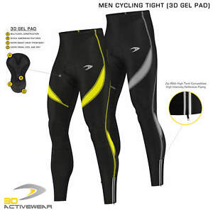 Activewear-3D-Gel-Padded-Legging-Cycling-Trouser-Mens-Cycling-Tights