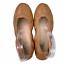 thumbnail 1 - Yosi Samra Lexington Saddle Vegan Leather Foldable Ballet Flats Camel Tan Size 6