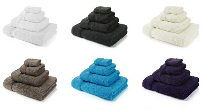 750 GSM Premium Hotel Quality 100% Egyptian Cotton BATH Towels Face Cloth Soft