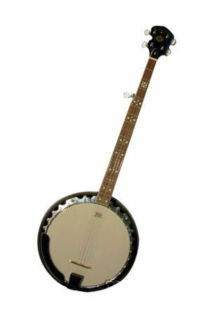 Oscar Schmidt OB5LH Lefty Left Handed 5-String Bluegrass Banjo 30 bracket