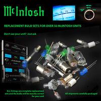 Mcintosh Replacement Bulbs - Complete Set For Mc2500 Mc2255 (interchangable)