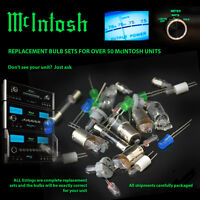 Mcintosh Replacement Bulbs - Complete Set For Mc2300 Amp - 8 Bulbs