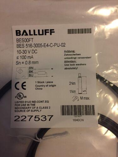 BS52 1pcs New Balluff BES00FT  BES 516-3005-E4-C-PU-02 227537