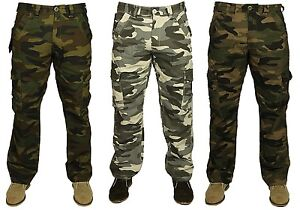 BNWT-MENS-FORGE-COMBAT-CARGO-CAMO-ARMY-PANTS-TROUSERS-SMART-CASUAL-SIZES-28-48