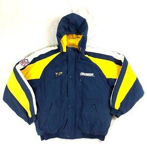 Vintage-90s-Reebok-NFL-Pro-Line-San-Diego-Chargers-Jacket-LA-Men-Sz-XL-Outerwear