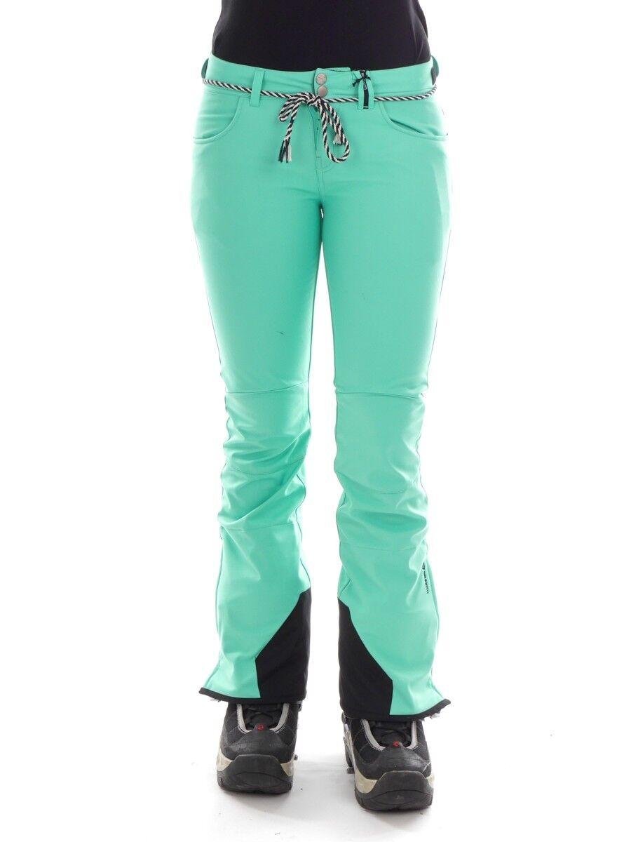 Brunotti Ski Pants Soft  Shell Trousers Snowboard Pants Green Rigging 15K Skinny  enjoy saving 30-50% off