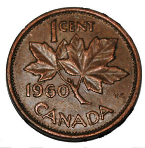 Canada 1998 1 Cent Zinc One Canadian Penny Coin Non Magnetic