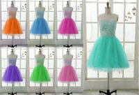 New Short Bridesmaid/Prom/Homecoming/Cocktail/Party/Formal/Evening Dresses