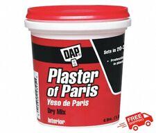 Dap White Plaster Of Paris 4 Lb Milk Paint Dry Mix Repairs Hobby Walls Ceiling