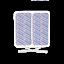 Indexbild 5 - TensCare Electrode pads. Square, Circular or Rectangular Shapes, 50 - 50/90/100