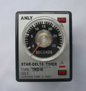 Anly-TRD-N-Motor-Starting-Time-Relay-Controller