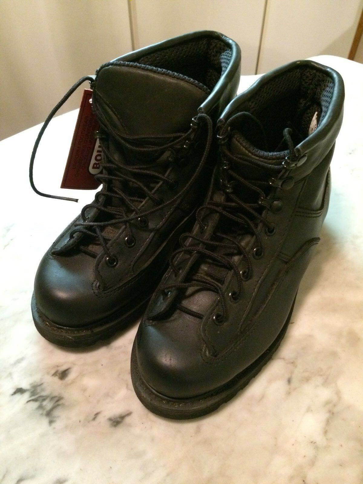 Uniform army military officer police mens shoes boots  sz 7 3E