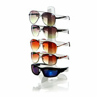5 Layers Glasses Show Stand Frame Display Rack Colorful Black White Clear Eg