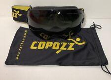 44d814be187 Copozz Black With Black Lens Anti Fog Wide Mirror Lens Ski   Snowboard  Goggles