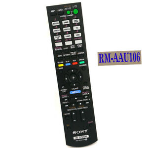 for sony str dh720 str dh720hp dh730 dh830 av system remote rm rh ebay com Sony Home Theater Receivers Sony 7.2 Channel Receiver