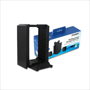 DOBE-PS4-KIT-MULTIFUNZIONALE-STAND-STORAGE-PS4-SLIM-PRO-XBOX-ONE