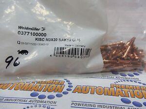 0317100000, KISC M3X20 SAK10 CU5, SAK Series, Fixing screw, for busbars 96/PKG