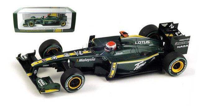 Spark s3008 Lotus T127 Monaco Gp 2010-J Trulli 1 43 Escala