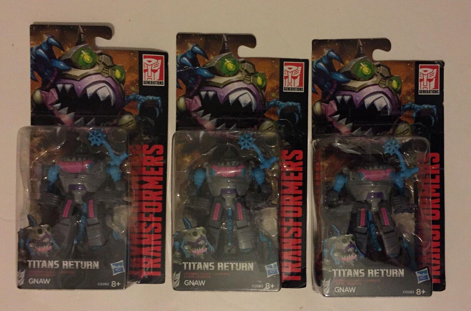 Transformers Hasbro generazioni LEGGENDE sharkticon tormentare x 3