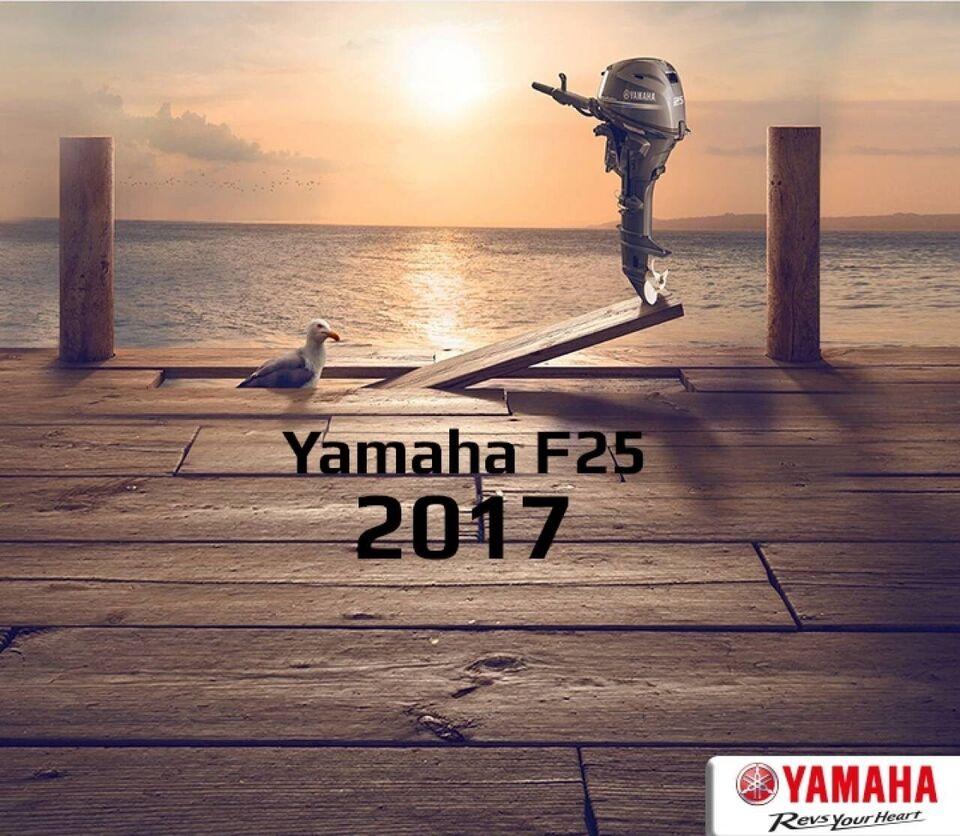 påhængsmotor Yamaha, hk 25, benzin