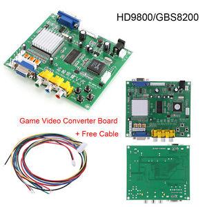 RGB-CGA-EGA-YUV-TO-VGA-Arcade-Game-HD-Video-Converter-Board-HD9800-GBS8200