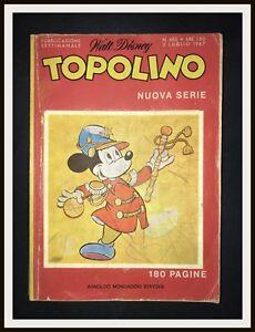 TOPOLINO-605-con-Ologramma-Mondadori-1967-DISNEYANA-IT