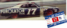 CD_2608 #17 David Pearson   1971 Ford Purolator Torino   1:64 Scale Decals