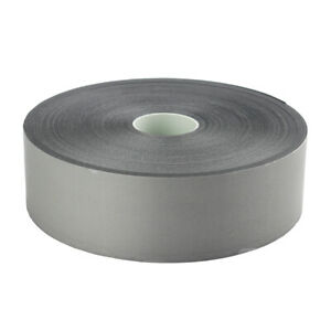3mt Length Hi Visibility Reflective Iron On Silver Grey Tape 50mm Wide Easy Fit