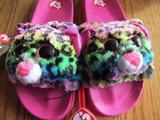 8e4c970a3da9b item 3 TY BEANIE BOO SLIDES~DOTTY Rainbow Leopard~GIRL s Size 4 5~NEW  w tags -TY BEANIE BOO SLIDES~DOTTY Rainbow Leopard~GIRL s Size 4 5~NEW  w tags