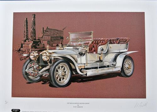 20HP SILVER GHOST ROLLS Royce Set di quattro stampe D/'ARTE Alpine Eagle /& fantasma