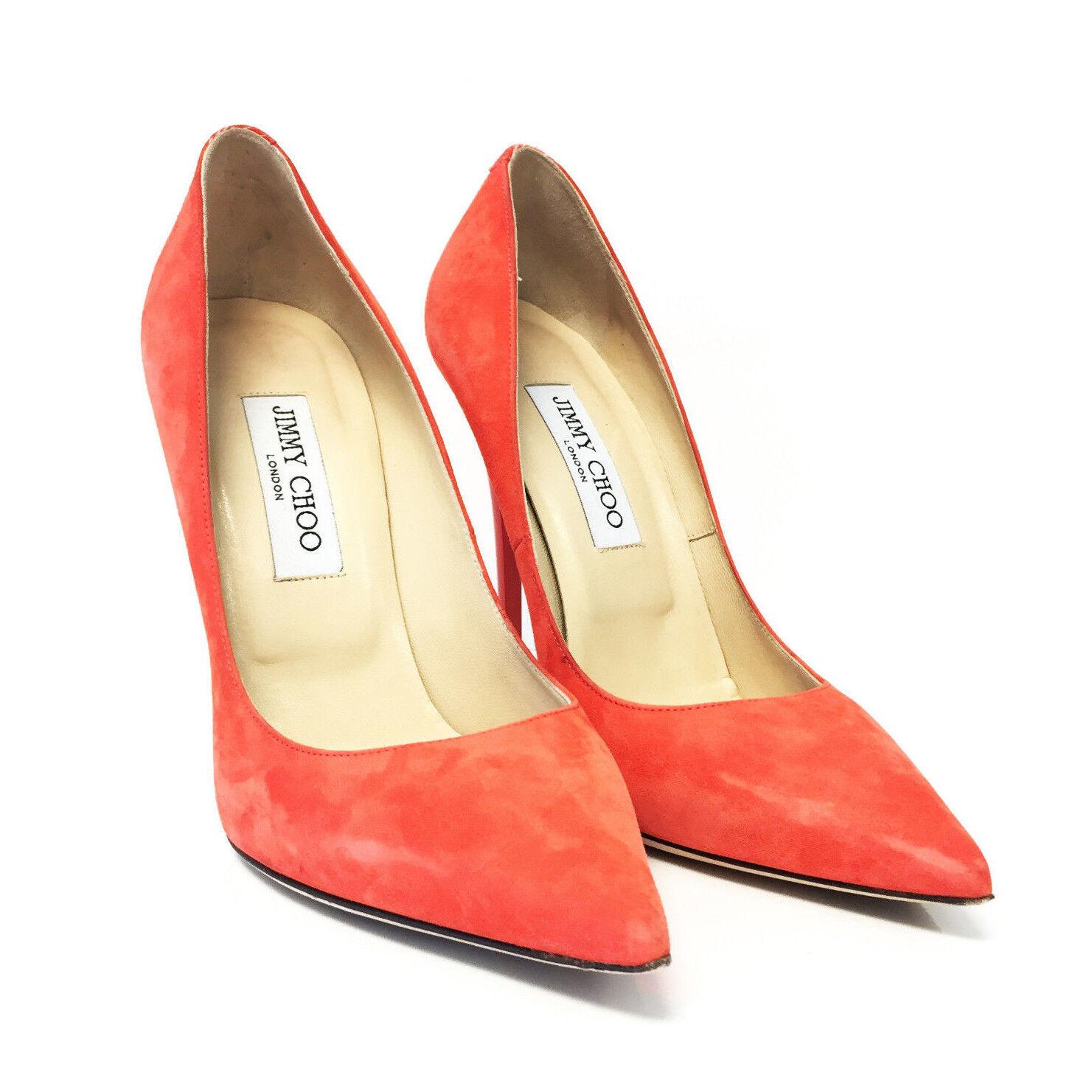 Jimmy Choo Anouk Suede High Heel Pumps Pumps Pumps shoes - Size 39 (US-8.5) (20866) d2ea79