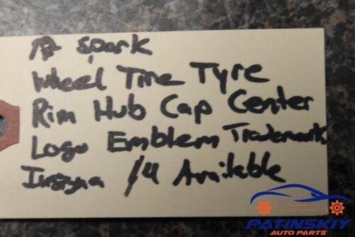 2017 CHEVROLET SPARK WHEEL TIRE RIM HUB CAP CENTER EMBLEM LOGO TYRE CHEVY 17