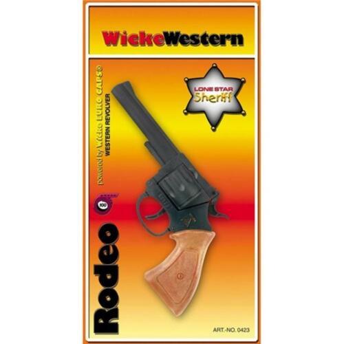 Colpo pistola pistola giocattolo Rodeo Wild West Divertente Accessorio Occidentale