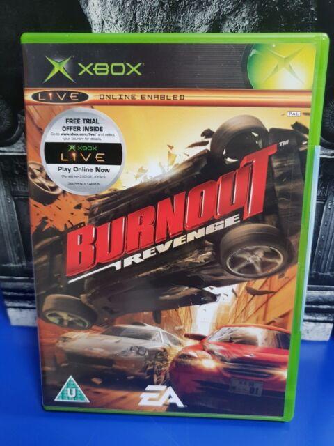 Burnout Burn out Revenge 2 Month Live - Original Microsoft Xbox PAL