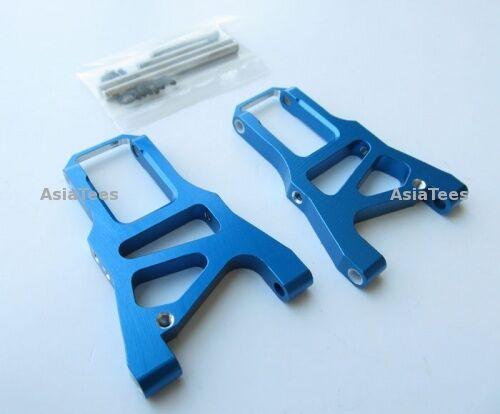 HPI Sprint 2 Aluminum Front Arm With Screws /& Pins /& E-clips 1 Pair Set Blue GPM
