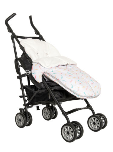 Baby Bites Universal Pram Stroller Buggy Sleeping Bag Soft Warm Footmuff