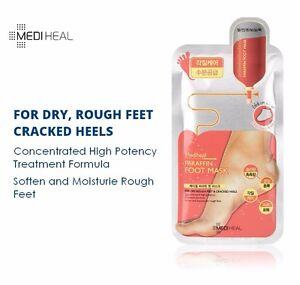 MEDIHEAL-PARAFFIN-FOOT-MASK-Soften-Moisturise-Dry-Rough-Feet-Crack-Heal-1-Pair
