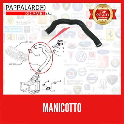 50508081 MANICOTTO ORIGINALE ALFA ROMEO 147 1.9 JTD TUBO ASPIRAZIONE INTERCOOLER