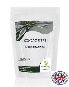 Konjac-Fibre-500mg-Glucomannan-x-90-Capsules-UK-Nutrition