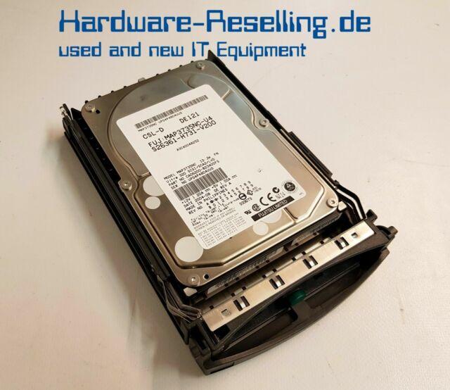 "Fujitsu 73GB 10k 3.5"" SCSI MAP3735NC CA06200-B23400FS"