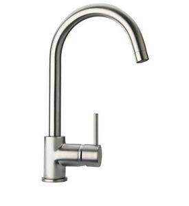 Details about Pegasus 1 or 3 Hole Single Handle Kitchen Faucet w/Mounting  Plate Brushed Nickel