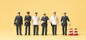 """Preiser 10422 H0 Figurines """" POLICE W Germany # NEW original packaging ##"""