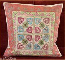 Stone wash Cotton Embroidery Hand Made Pillow Cover from Craft Options!