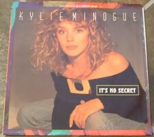 Collection of Kylie Minogue 45 RPMs on Geffen,  Lot 3 With Picture Sleeves