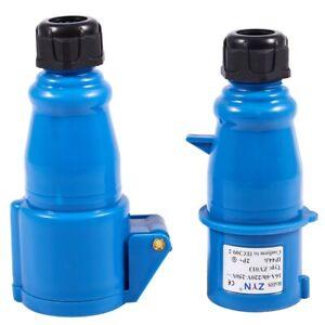 Presa-AC-impermeabile-IEC309-2-2P-T-spina-industriale-220-240V-16A-Amp-I3L7
