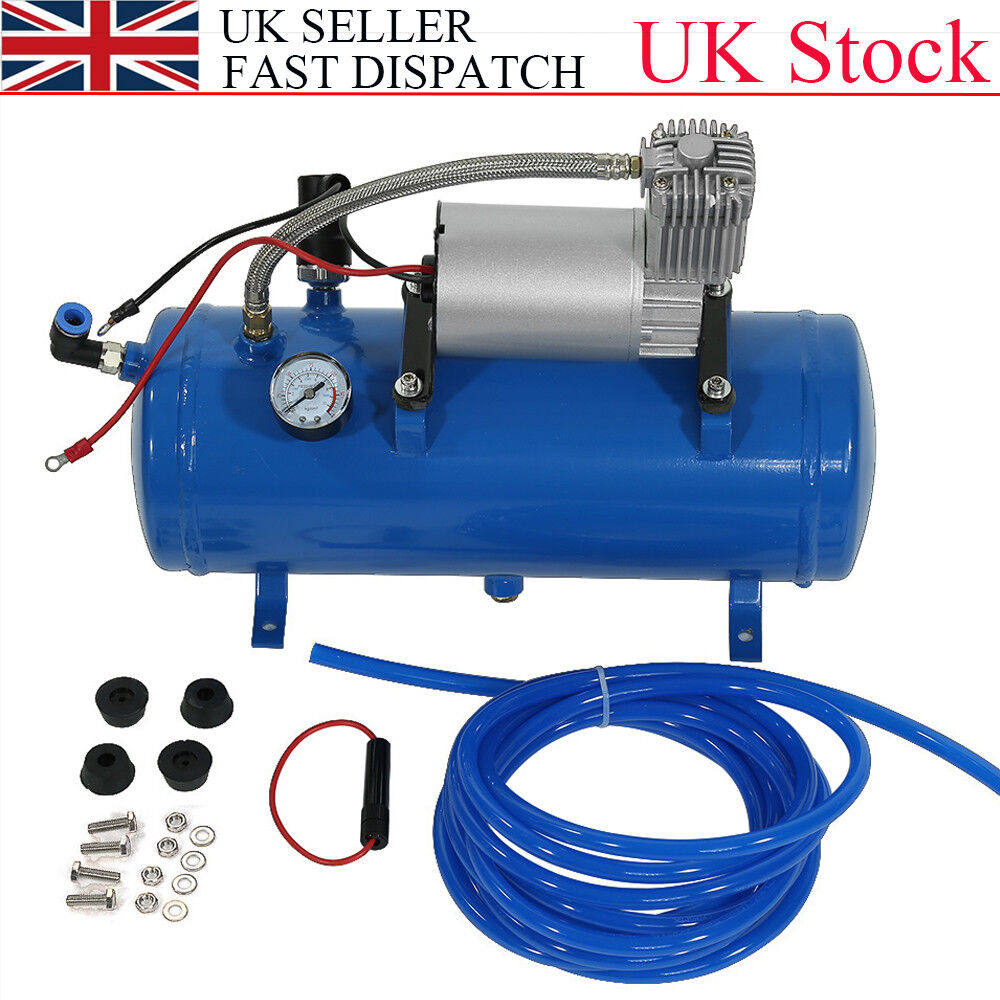 Heavy Duty 150psi 12v Air Compressor Tyre Inflator Pump For Air Horn Train Truck